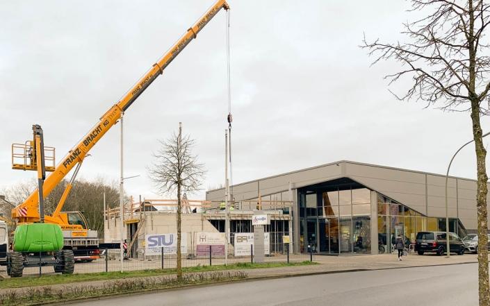 Baldauf Architekten - 2-Rad Schnieder Erweiterung