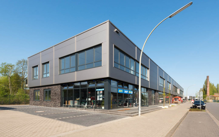 Baldauf Architekten - Autoshop PRO Steinfurt