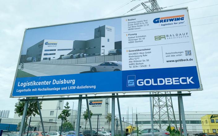 Baldauf Architekten - Logistikcenter Duisburg