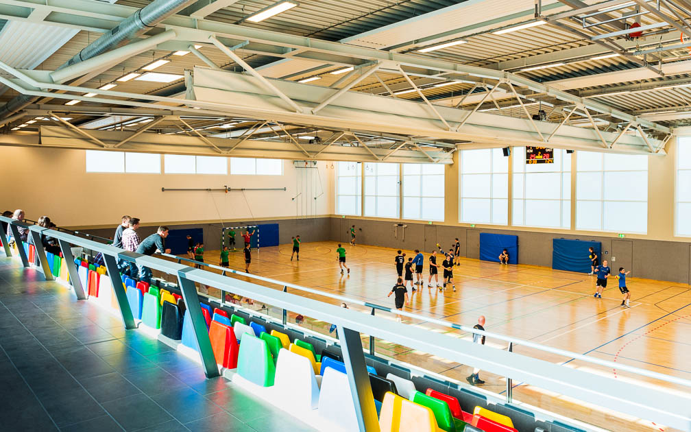 Sporthalle Steinfurt -...