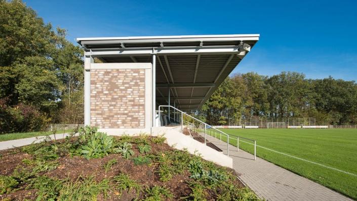 Baldauf Architekten - Tribüne Sportanlage